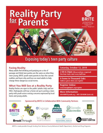 Reserve Your Spot: Reality Party for Parents