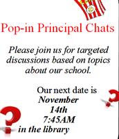 Pop-In Principal Chats