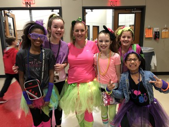 80's Themed Dance & OPEN GYM NIGHT such fun!