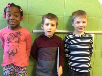 Gracie, Ethan, Henry