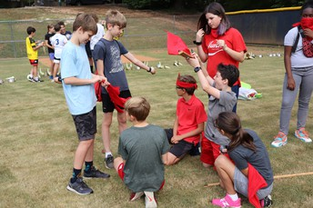 Renfroe's 7th Grade Team Building at McCoy Park