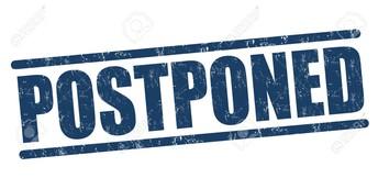SMALL Groups Postponed