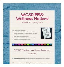 2019 Spring Newsletter: Wellness Matters!