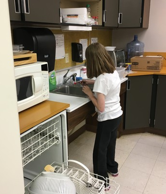 Taking Care of the Dishes
