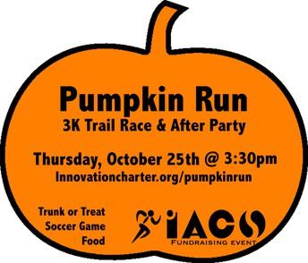Pumpkin Run Event Timeline