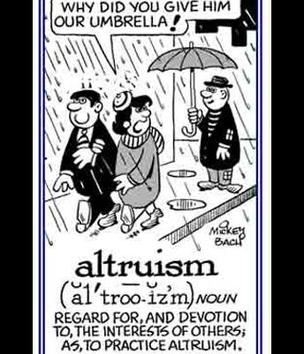 Altruistic develop...