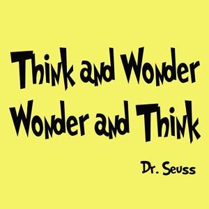 I wonder? Let's deepen our learning!