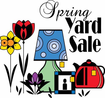 Spring Yard Sale (May 19)