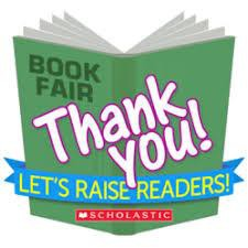 Book Fair-Thank You!