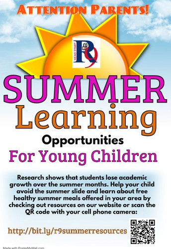 Summer Learning information for parents