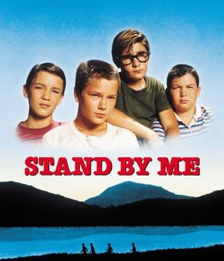 DVD cover for Stand by Me movie