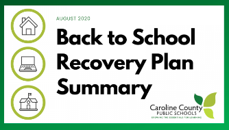 CCPS Back to School Recovery Plan
