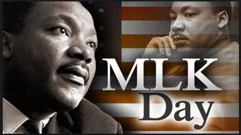 Monday, Jan. 15 | MLK JR. DAY
