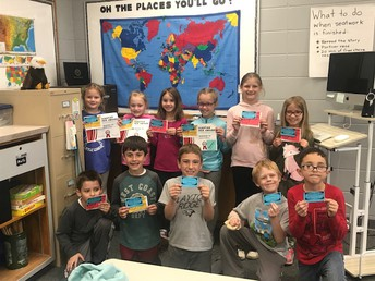 Second-Graders and Victory Ford Reading Program