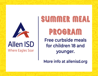 Summer - Free Curbside Meals