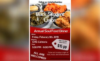 Tonight : Annual Soul Food Dinner