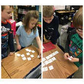 Mrs. Mote's First Graders Sort Pictures to Ending Blends