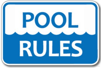 Did you know there are specific rules for the pool in Fronterra?