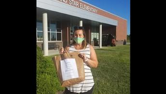 Grand Star Elementary Mask Donation