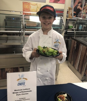 Eli, 3rd place winner Sodexo Future Chef's Competition