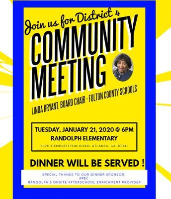 Linda Bryant's Community Meeting