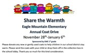 Share the Warmth - Annual Coat Drive