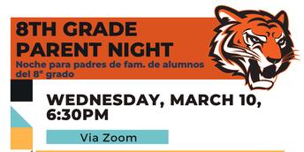 Chaffey Parent Information Night: March 10, 6:30 pm