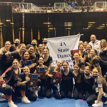Congrats to WildPride Dance Team- 4A State Champs!