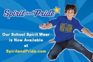SCHOOL SPIRIT WEAR NOW AVAILABLE!