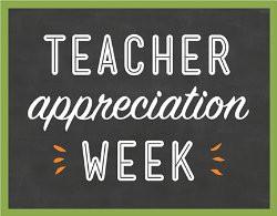 Teacher Appreciation Week 2019