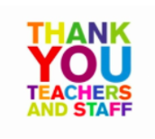 Thank Oster's Hard Working Teachers!