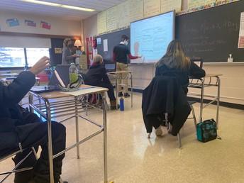 Utopia vs. Dystopia vocabulary in Mrs. Frohm's class