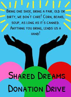 Shared Dreams Donation Drive