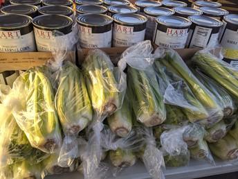 Celery and Corn
