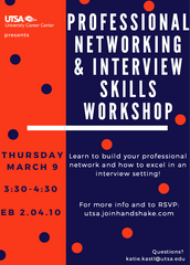Professional Networking & Interviewing Skills Workshop