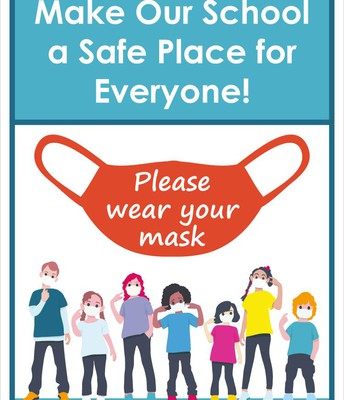 WEAR A CLEAN MASK EVERYDAY!