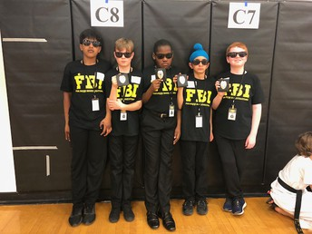 FBI:  Five Book Investigators