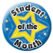 We are AVID Students of the Month!