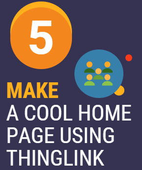 5. Make a Cool Home Page Using Thinglink