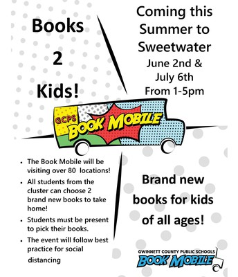 The Bookmobile is Coming!!!!!!!!!