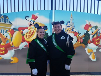 Drum Majors at Disney!