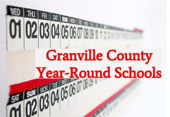 Year Round Calendar Schools