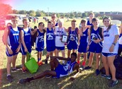Junior High Cross Country Wins 1st in District!!!