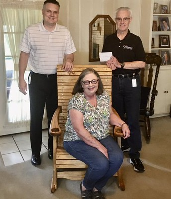 Delivering retirement rocking chairs