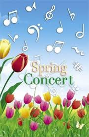 Upcoming Spring Concert Dates