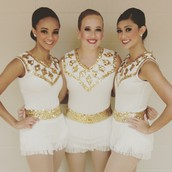 New White-Sequined Uniforms