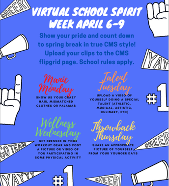 Central Middle School Virtual Spirit Week