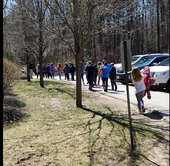 Heading to the Vernal Pool