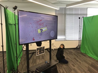 Virtual Reality Crime Scene