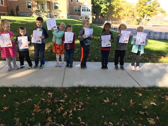 K4 went on a Fall Scavenger Hunt!